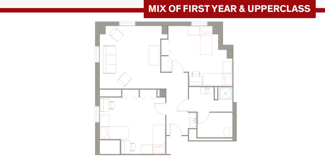 JST 4-Person Floor Plan
