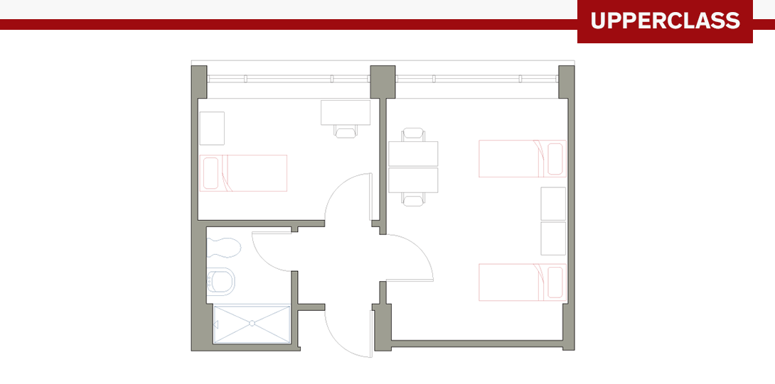 PSR 3-Person Floor Plan