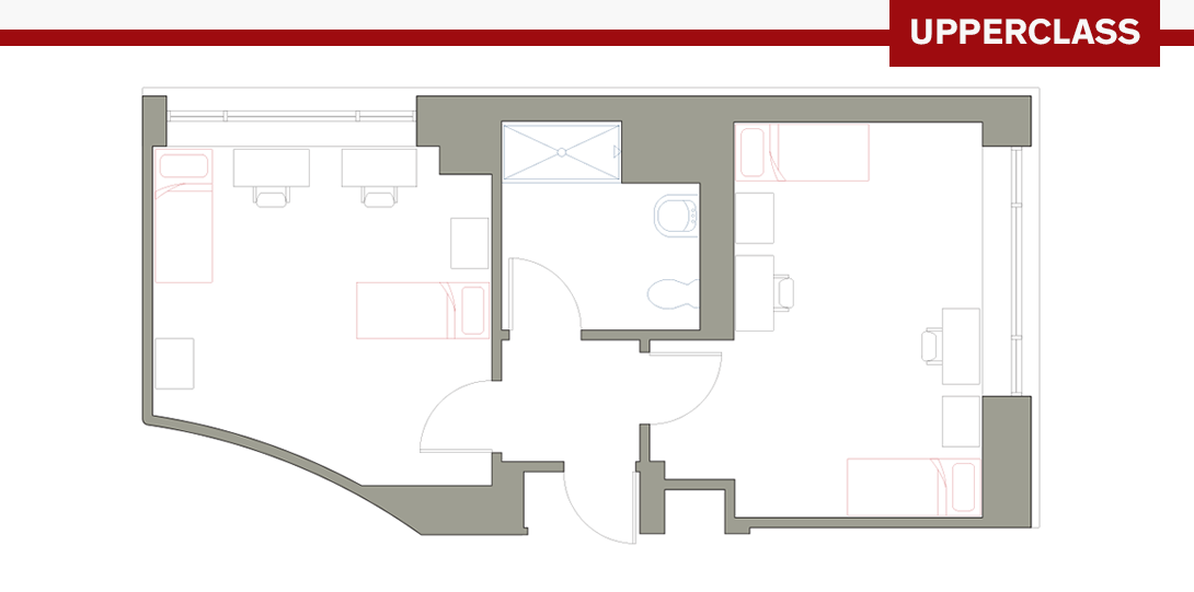 PSR 4-Person Floor Plan