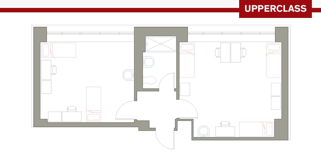 PSR 5-Person Floor Plan