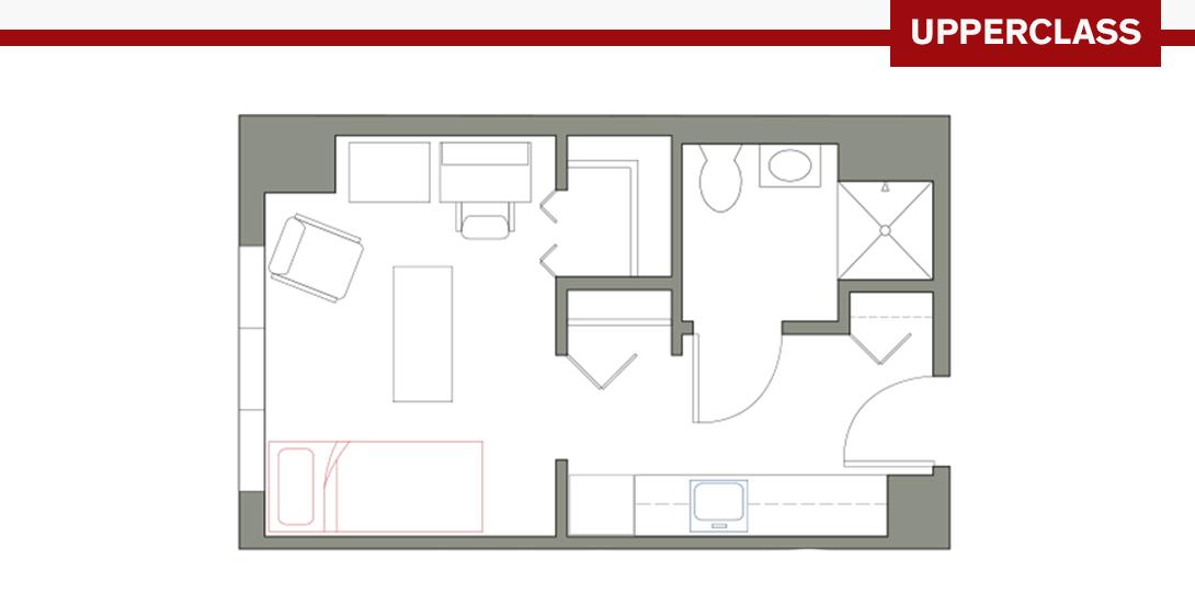 MRH Studio Floor Plan