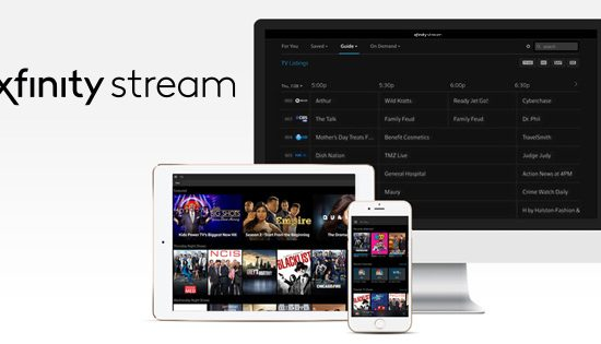 Xfinity Stream and Peacock Premium are included with your UIC Campus Housing package